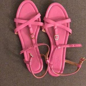 J.Crew Pink sandals size 9